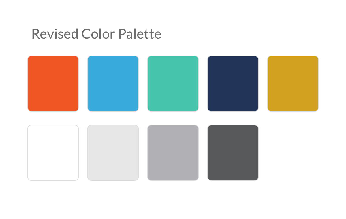 Shiftboard Color Palette Revised