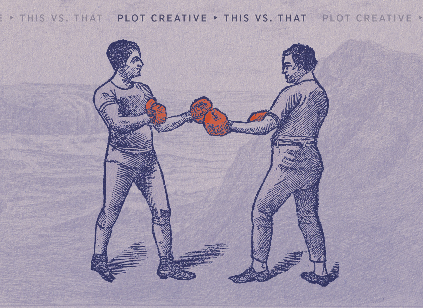 Plot: This vs. That
